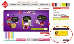 Bons de reductions Leader Price