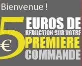 5 euros gratuits