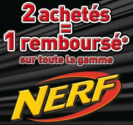 Offre remboursement NERF