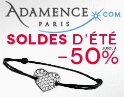 Soldes Moins 50 pourcents bijoux et code reduction 5 pourcents