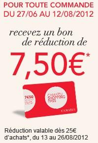 bon reduction 7 euros 50 camaieu