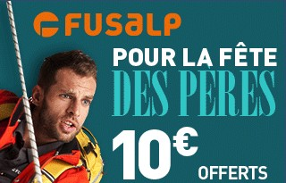 code reduction fusalp 10 euros fete des peres