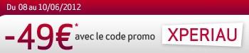 code reduction Virgin Mobile Sony Xperia U