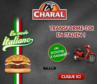 Gagnez un scooter Piaggio - Concours Charal
