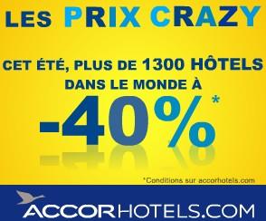 moins 40 pourcents hotels NOVOTEL