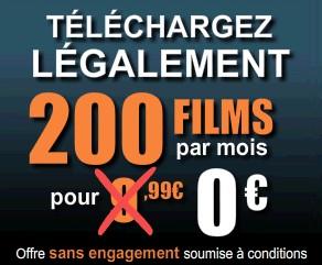Telechargez legalement et gratuitement 200 films
