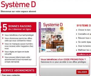 Un numero gratuit du magazine Systeme D