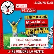 vente flash billet enfant gratuit Mondial du Mondelisme