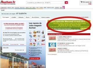 Bon reduction Auchan 5 euros le 15 aout 2012
