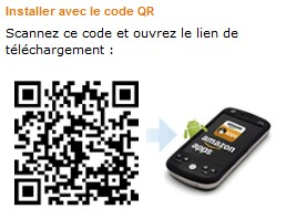 code QR Application gratuite Android