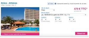promo sejour grece 8 jours tout compris pour seulement 479 euros. Black Bedroom Furniture Sets. Home Design Ideas