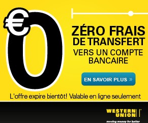 bon plan transfert argent western union gratuit. Black Bedroom Furniture Sets. Home Design Ideas
