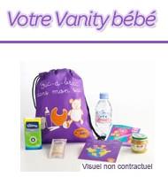 Vanity bébé offert chez Carrefour
