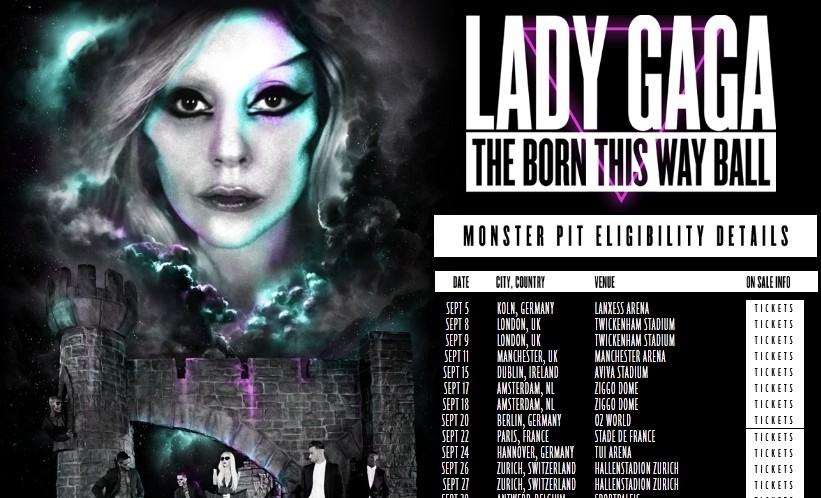 Place Concert Lady Gaga au stade de France à 27 euros au lieu de 67 euros