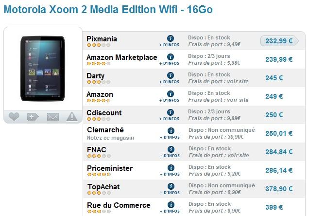 Vente flash tablette motorola xoom 2 media edition 8 9 - Code promo amazon frais de port gratuit ...