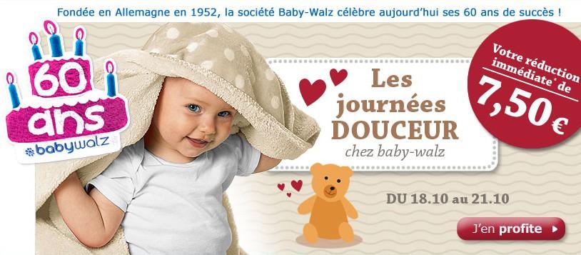 Code promo baby watz 7 5 euros pour 35 euros - Code promo baby walz frais de port gratuit ...