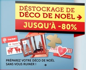 deco noel destockage