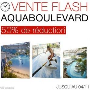 vente flash entree aquaboulevard a moitiee prix