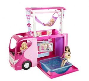camping car barbie moiti prix solde fnac. Black Bedroom Furniture Sets. Home Design Ideas