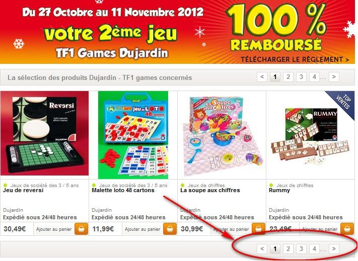 votre 2 eme jeu tf1 games dujardin gratuit 1 jeu Dujardin / TF1 Games acheté = le 2ème 100% remboursé   ODR Noel 2013