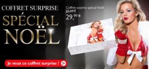 Coffret sexy couple spécial Noel a seulement 29,99 euros au lieu de 89,99 euros