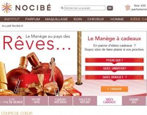Moins 25% sur le parfum de votre choix chez Nocibé (ou -40% sur le 2éme)