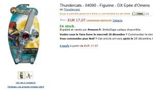 Le plus bas prix ! DX Epée d'Omens des Thundercats a seulement 17,07 euros (port inclus)