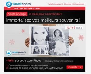 Promo livre photo a moins 70 smartphoto a seulement 10 19 euros au lieu de 33 95 euros - 200 euros en livres ...