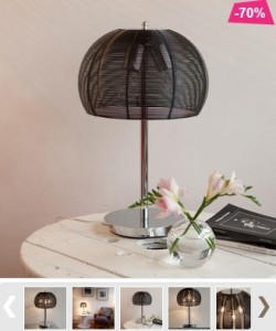 Promo -70% ! Lampe métal Newport à seulement 67,90 euros au lieu de 224 euros (frais de port inclus)