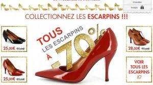 Tous les escarpins à moins 70% chez Eden Shoes (à partir de 25 euros)!
