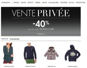 Vente Privée Amazon ! -40% sur vêtements, chaussures, Sacs, montres et Bijoux (code promo)
