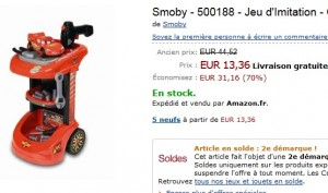 Chariot World Of Grand Prix Smoby a 13 36 euros (40 euros ailleurs)