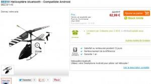 Helicoptere vendu 62 euros sur Rue du Commerce