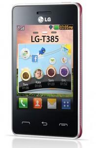 LG T385 Wi-Fi pas cher