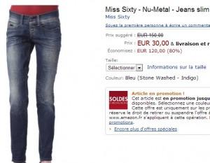 Miss Sixty - Nu-Metal - Jeans slim