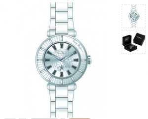 Moins de 50 euros la montre Thierry Mugler femme au lieu de 129 euros
