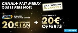 Offre du moment Canal Plus