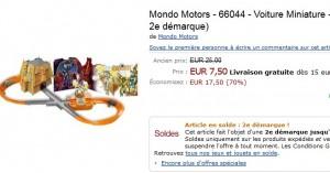 Piste Gormiti Tracks Luminos  + 1 voiture en solde a 7 50 euros