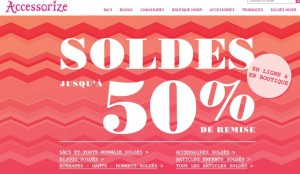 SOLDES ACCESSORIZE