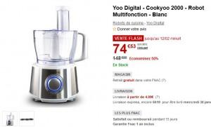 Yoo Digital - Cookyoo 2000 - Robot Multifonction - Blanc