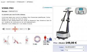 Appareil de fitness Vitra Pro à seulement 155,95 euros (port inclus) au lieu 800 euros