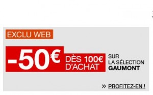 Bon plan Blu-ray Gaumont ! 50 euros de remise pour 100 euros d'achat