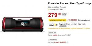 Bon Plan : Enceintes iPod/iPhone/MP3 Pioneer Steez D10Z à seulement 179,90 euros (après remboursement de 100 euros par Pionner)