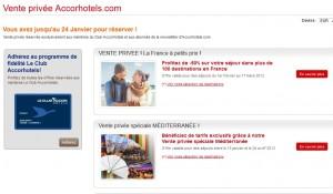 Bon plan hôtels Accor (Ibis, Novotel, F1, Mercure…) : inscrivez-vous au club gratuitement et profitez des ventes privées
