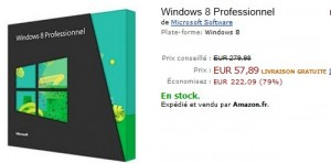 Derniers jours Windows 8 à 57,89 euros au lieu de 279 euros