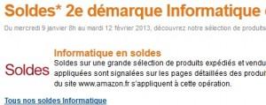 deuxieme demarque Amazon informatique