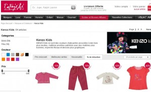 kenzo kids soldes galeries lafayette moins 70 pourcents