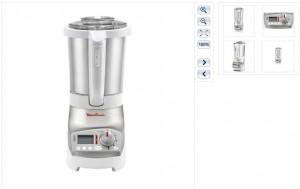LE PRIX LE PLUS BAS ! Blender chauffant Moulinex Soup & Co a seulement 149 euros (entre 179 et 200 euros ailleurs)