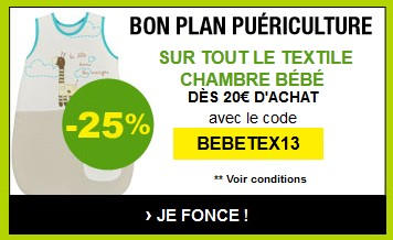 code promo moins 25 sur les gigoteuses chez auchan. Black Bedroom Furniture Sets. Home Design Ideas