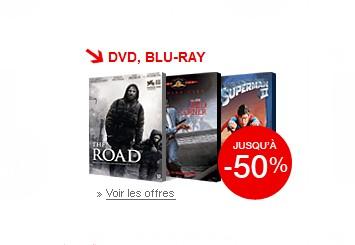 Moins 50% sur les DVD et Blu-ray à la FNAC (SOLDES)